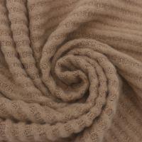 Latte Waffle Brush Poly Rayon Spandex Knit Fabric
