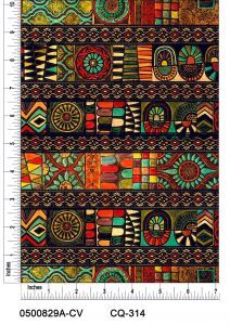 Traditional Pattern Printed on 100% Cotton Quilting Fabric by the Yard