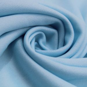 "60"" Wide Baby Blue 73 Interlock Lining Fabric by the Yard"