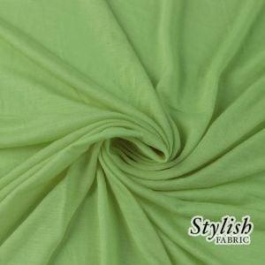 Grass 100% Rayon Jersey Fabric