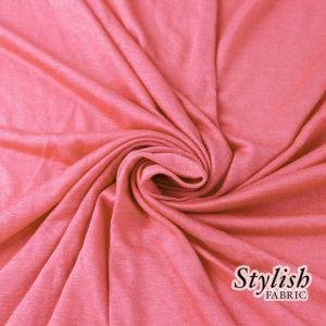 Pink Mamly 100% Rayon Jersey Fabric
