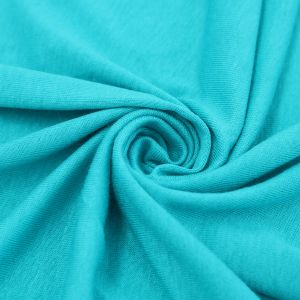Cayman Blue Special light-weight Rayon Spandex Jersey Knit Fabric