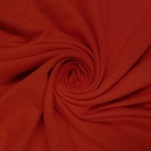 Red Crimson Light-weight Rayon Spandex Jersey Knit Fabric - 160 GSM