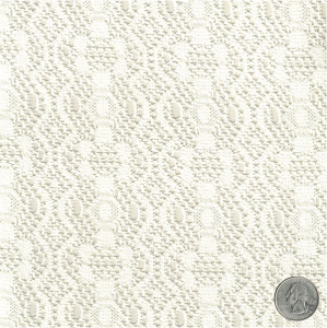Ivory Garland Crochet Lace Fabric by the Yard