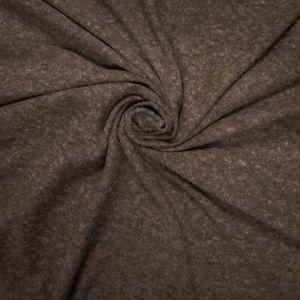 Brown Crepe 3 Tone on Jersey Knit Fabric by the Yard