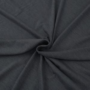 Charcoal 2 Tone Ultra-Heavy Weight Rayon Spandex Jersey Knit Stretch Fabric  220 GSM