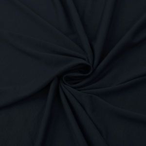 Navy Ultra-Heavy Weight Rayon Spandex Jersey Knit Stretch Fabric  220 GSM
