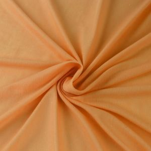 Orange New Solid Non-Spandex Classic Light Weight Jersey Knit Fabric