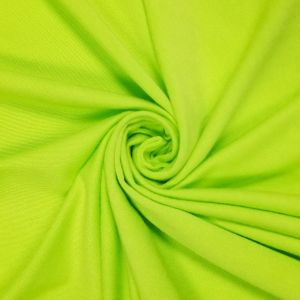 Green Apple Neon Ultra-Heavy Weight Rayon Spandex Jersey Knit Stretch Fabric