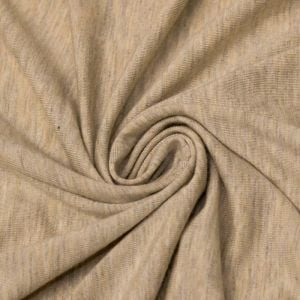 Oatmeal Ultra-Heavy Weight Rayon Spandex Jersey Knit Stretch Fabric