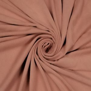 Peach Ultra Heavy Weight Rayon Spandex Jersey Knit Stretch Fabric