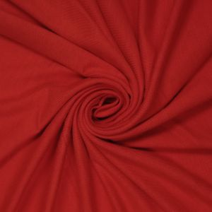Red Crimson Ultra-Heavy Weight Rayon Spandex Jersey Knit Stretch Fabric