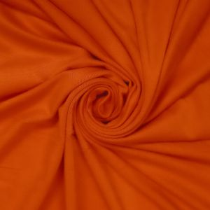 Tangerine Ultra Heavy Weight Rayon Spandex Jersey Knit Stretch Fabric