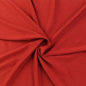 Red Scarlet Model Rayon Spandex Fabric