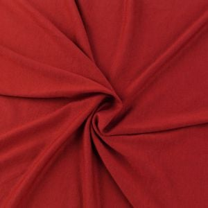 Red Model Rayon Spandex Jersey Fabric