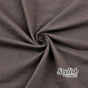 Toffee Cotton Spandex Jersey Knit Fabric Combed 10oz
