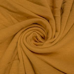 MUSTARD Cotton Spandex Jersey Knit Fabric Combed 10oz