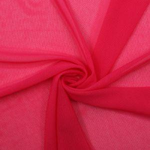 Hot Pink Nylon Power Mesh Fabric