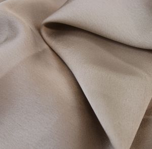 SALE! ONE TIME OFFER ONLY! 4 YARDS Toffee Crepe Back Satin Mechanical Satin Chiffon Fabric