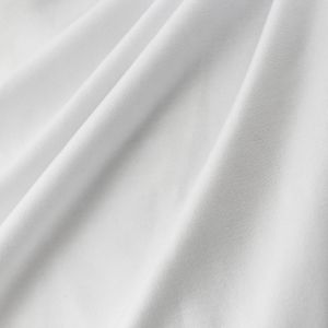 Off White HEAVY ITY Stretch Jersey Knit Fabric Heavy Weight Twist Yarns ITY - 229 GSM