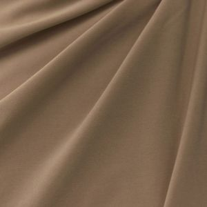 Taupe-B HEAVY ITY Stretch Jersey Knit Fabric Heavy Weight Twist Yarns ITY - 229 GSM