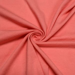 Pink Mamly Cotton Spandex Jersey Knit Fabric Combed 7oz