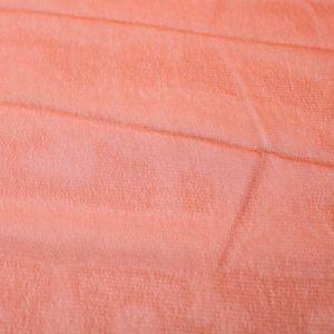 Burnt Orange Solid Hi-Multi Chiffon Fabric