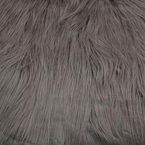Tan Faux Fur Fabric Long Pile Mongolian
