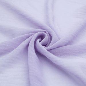 Lavender Solid Hi-Multi Chiffon Washed