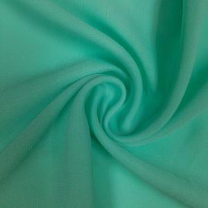 Green Mint Light Wool Dobby Chiffon Fabric