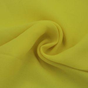Yellow  Wool Dobby Hi Multi Chiffon Fabric