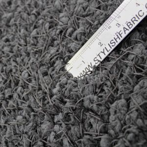 Black Sheep Design with Tassel Faux Fur Fabric by the Yard Style 5051