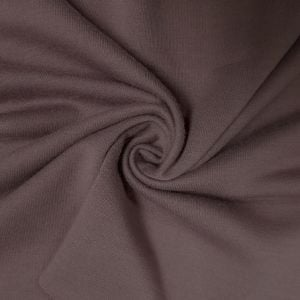 Mauve Dusk French Terry Spandex Fabric