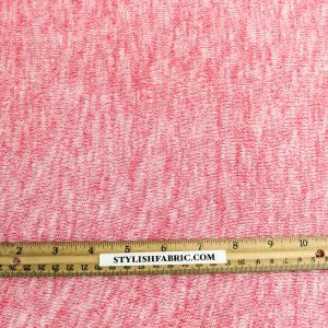 Hot Pink Soft and Stretchy Sweater Knit Fabric