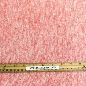 Red Scarlet Soft and Stretchy Sweater Knit Fabric