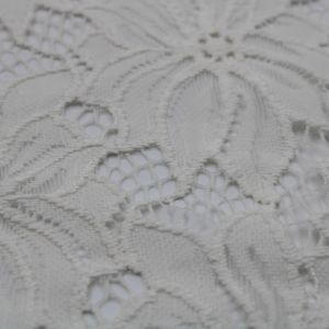 Offwhite  Scallop Lace Fabric By the Yard - Cecille