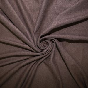 Brown Stretch Suede Fabric