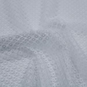 Off White Lace Knit Fabric by the Yard