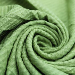 Kiwi Green 4x2 Thermal Ribbed Stretch Knit Fabric by the Yard