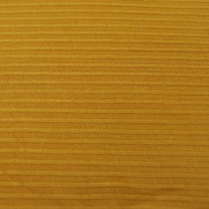Mustard Light  4x2 Thermal Ribbed Stretch Knit Fabric