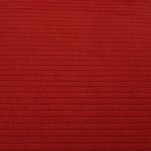 Rust 4x2 Thermal Ribbed Stretch Knit Fabric