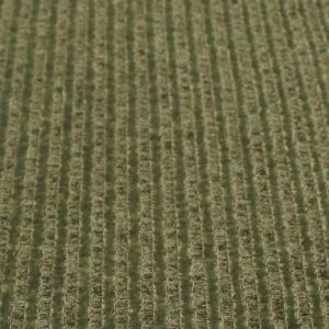 Olive Chambray 6x3 Brushed Poly Rayon Rib Knit by the Yard