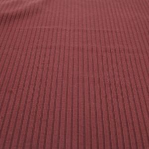 Red Brown 6x3 Brushed Poly Rayon Rib Knit