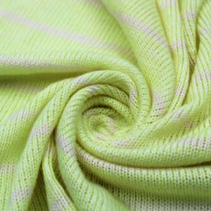 Cozy Warm Lemon Shade on Open Knit Sweater Fabric by the Yard
