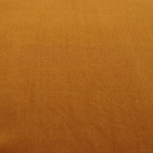 Mustard Dark Solid Double-Sided Brushed DTY Stretch Fabric