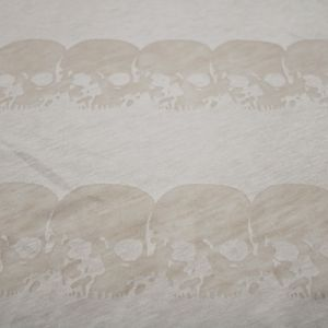 Blush Skull in line Sweater Knit Fabric by the Yard