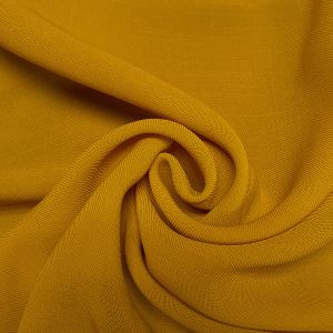 Mustard 59'' Solid Linen Look Light-Weight Poly Fabric