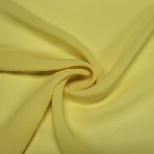 Yellow 59'' Solid Linen Look Light-Weight Poly Fabric