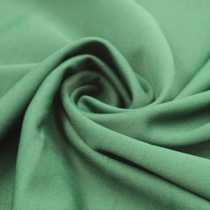 Hunter Green Scuba Crepe Techno Knit Fabric by the Yard