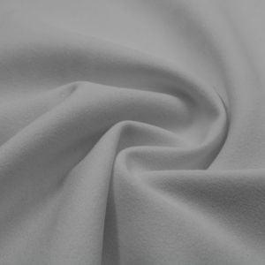 White Scuba Crepe Techno Knit Fabric